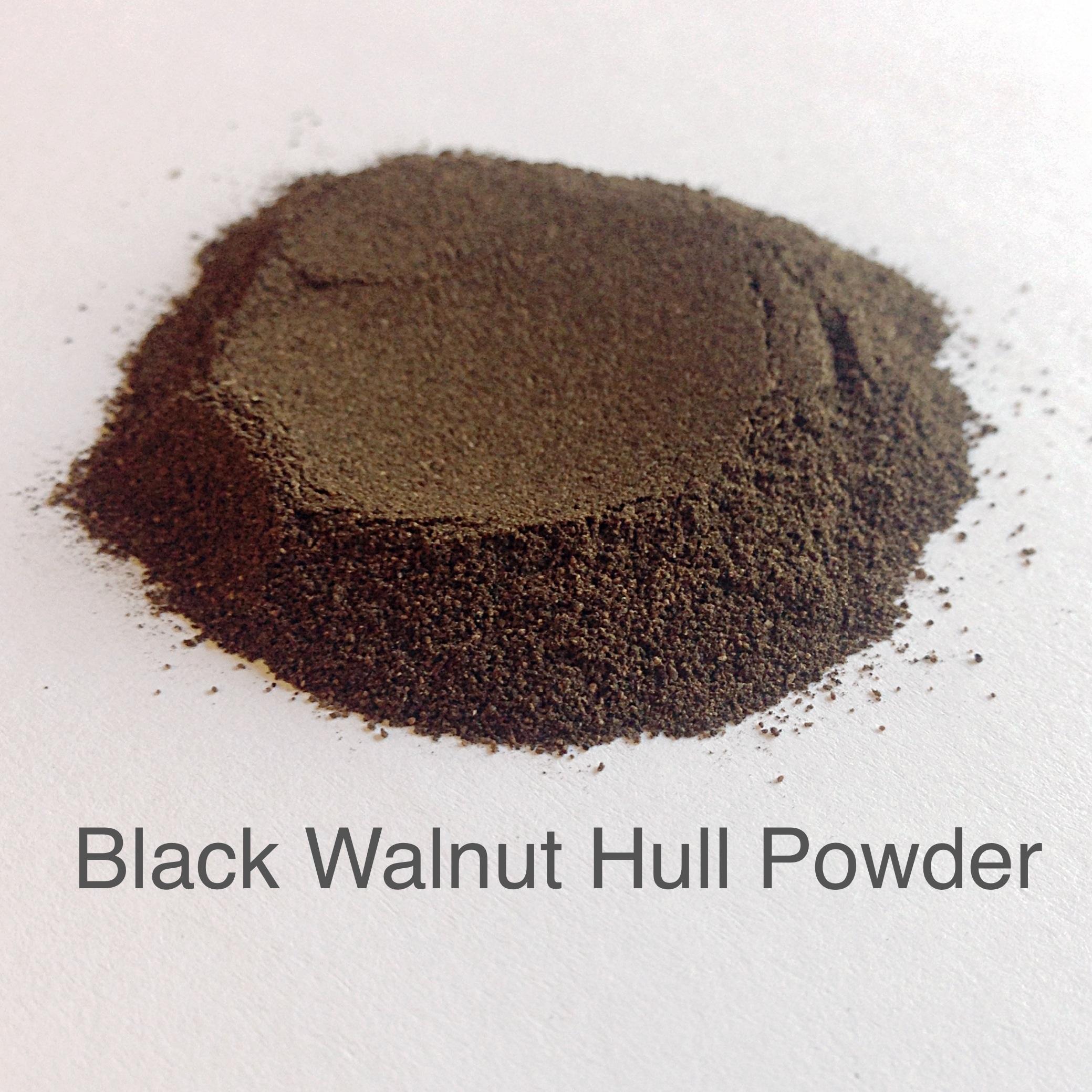 Black walnut hull uses